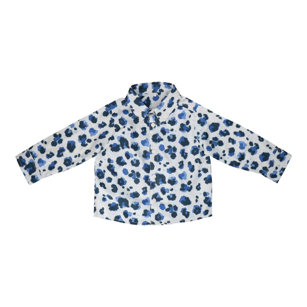 Hunter + Boo Shirt - Yala Blue