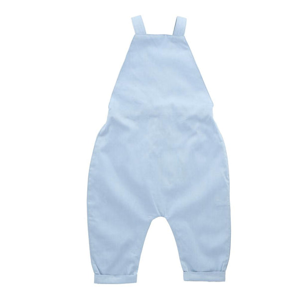 Hunter + Boo Overalls - Chambray