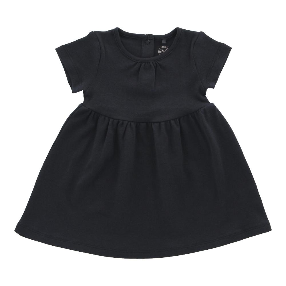 Hunter + Boo T-Shirt Dress - Soft Black
