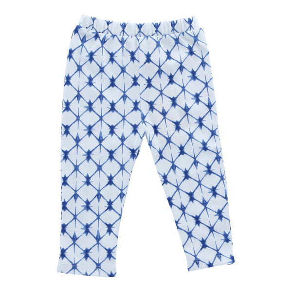 Hunter + Boo Leggings - Shibori Blue