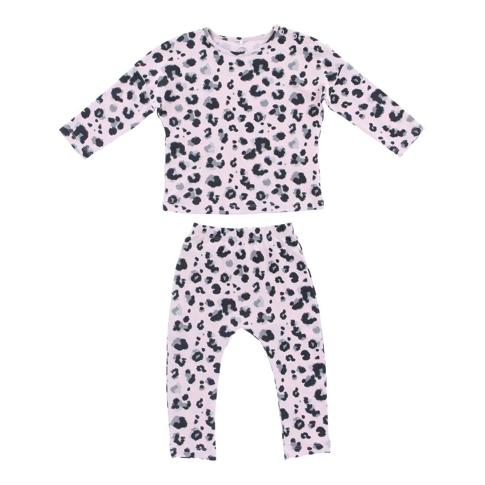 Hunter + Boo Pyjama Set - Yala Pink