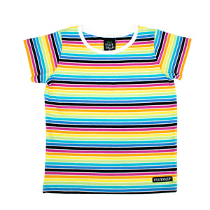 Villervalla Short Sleeve Rainbow T Shirt