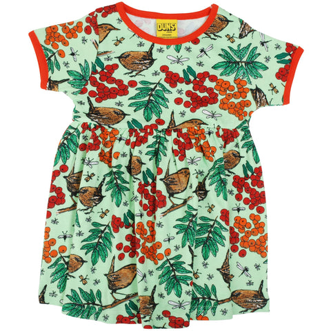 Duns Green Rowanberry Short Sleeve Twirly Dress