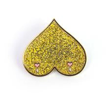 Golden Boobies Pin