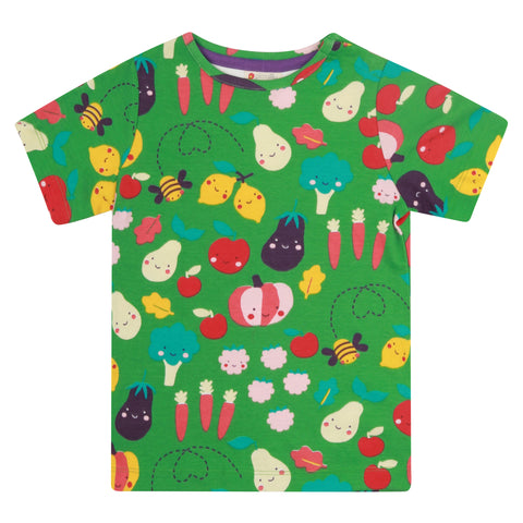 Piccalilly Grow Your Own Short Sleeve T Shirt