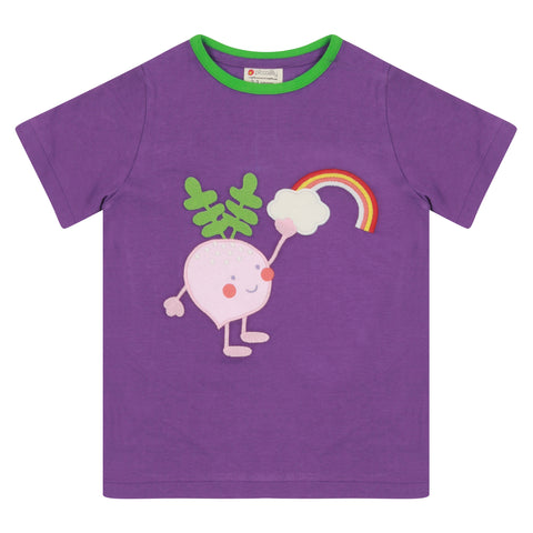 Piccalilly Beetroot Buddy Short Sleeve T Shirt