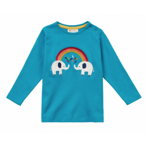 Piccalilly Long Sleeve Elephant Top