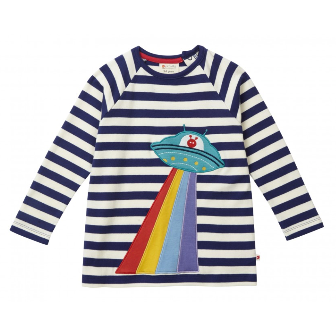 Piccalilly Long Sleeve UFO Raglan Top