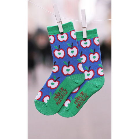 Fraulein Prusselise Apple Socks (kids)