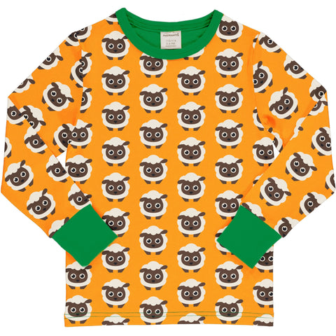 Maxomorra Classics Sheep Long Sleeve T Shirt