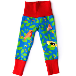 Merle Kids In the Berry Bush Organic Leggings