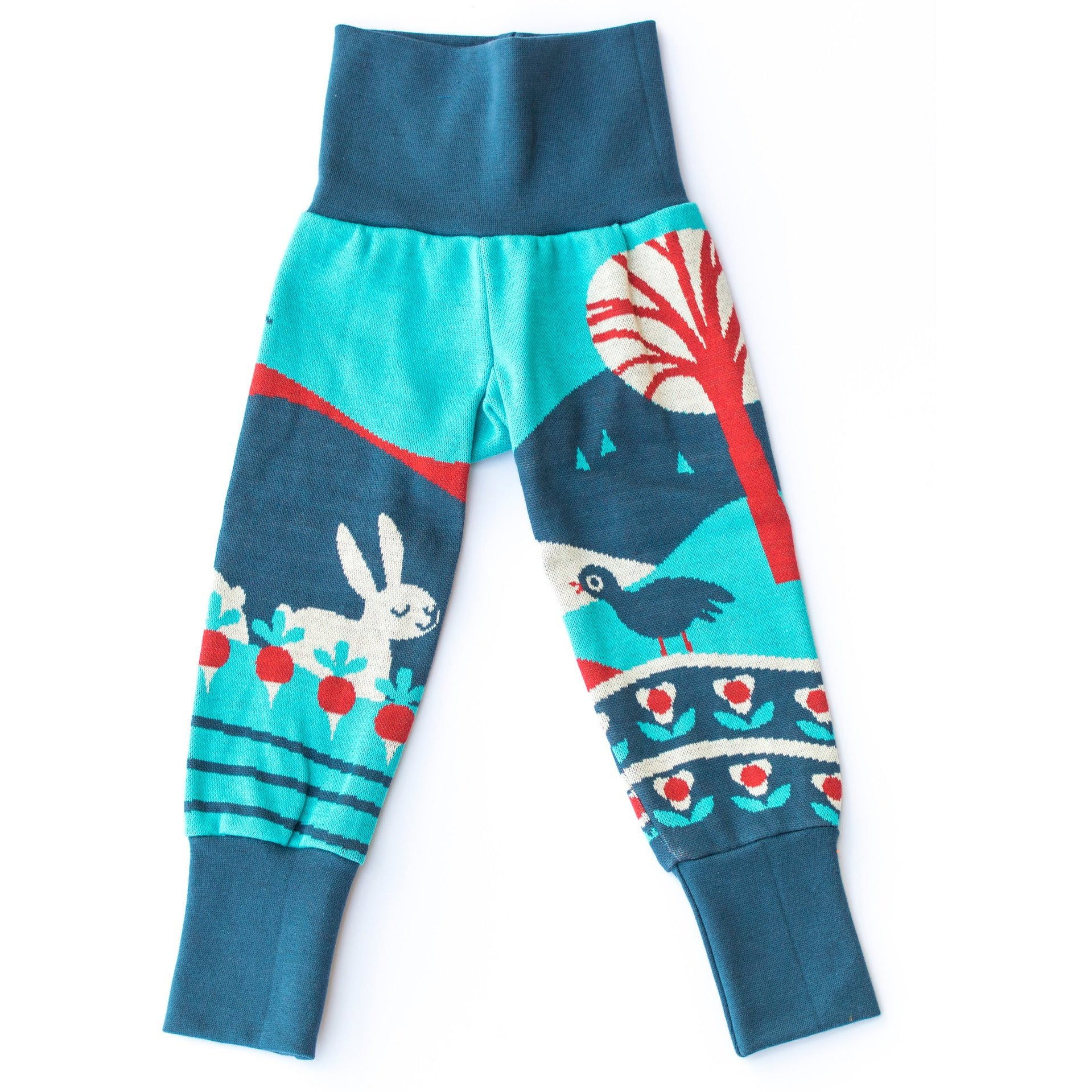 Merle Kids Rabbit Love Organic Leggings