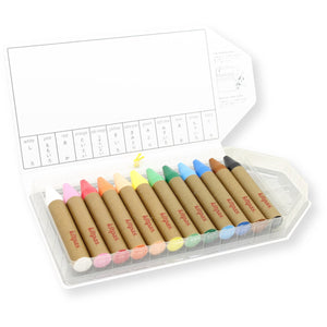 Kitpas Crayons Large 12 pack