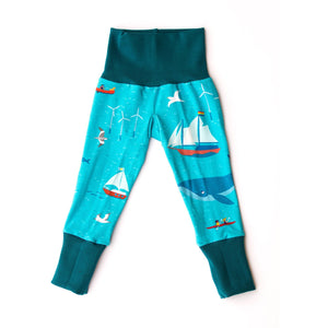 Merle Kids Ocean Organic Leggings