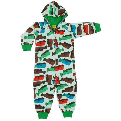 Duns Minty Fugo Lined Hooded Suit