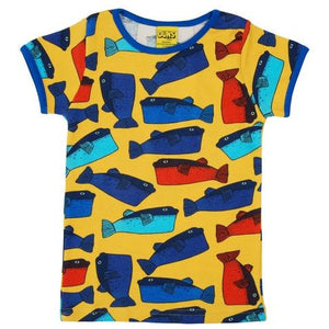 Duns Yellow Fugo short Sleeve Top (kids)