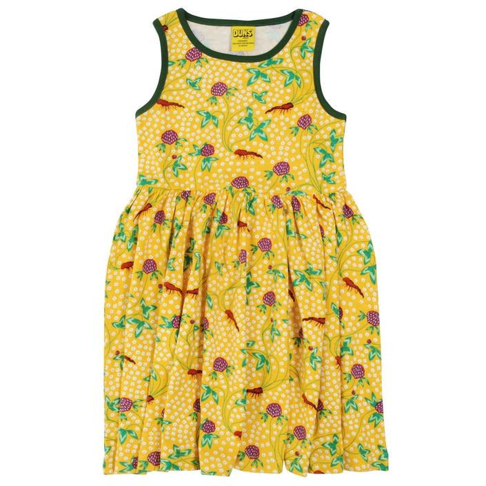 Duns Spring Red Clover Twirly Dress (adults)