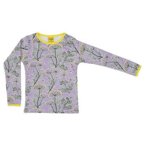 Duns Violet Dill Long Sleeve Top