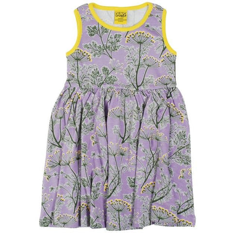 Duns Violet Dill Twirly Dress