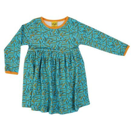 DUNS Sweden Pencils Long Sleeve Twirly Dress (adults)