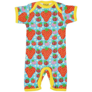 DUNS Sweden Turquoise Strawberry Field Summer Suit