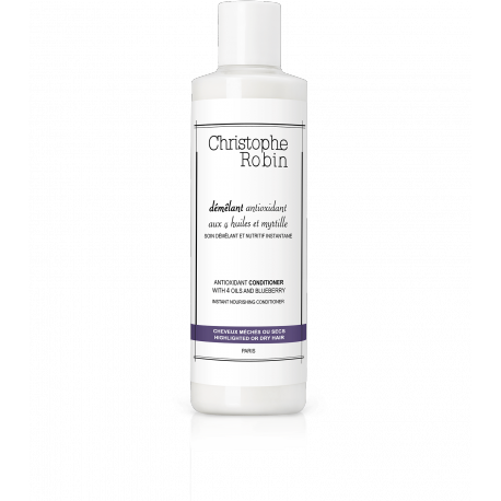 Antioxidant conditioner with oils and blueberry