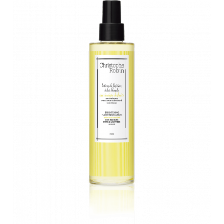 Bright blonde finishing lotion with fruit vinegar