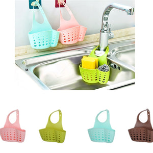 Sink Shelf Soap Sponge Drain Rack