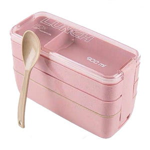 Portable Healthy Material Lunch Box