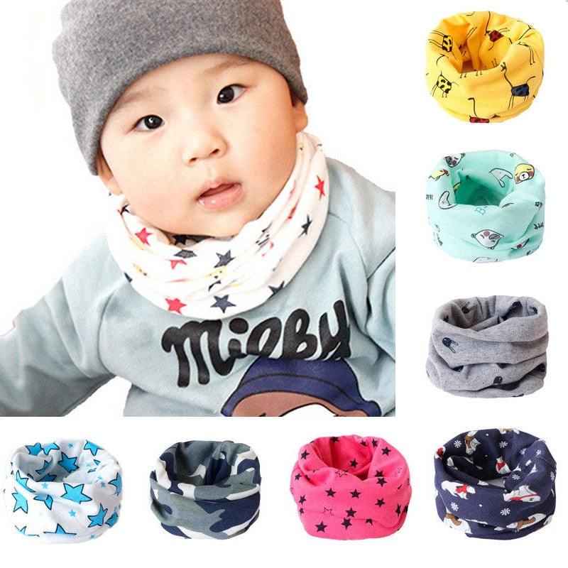 Kids Scarf  Winter Soft Cotton