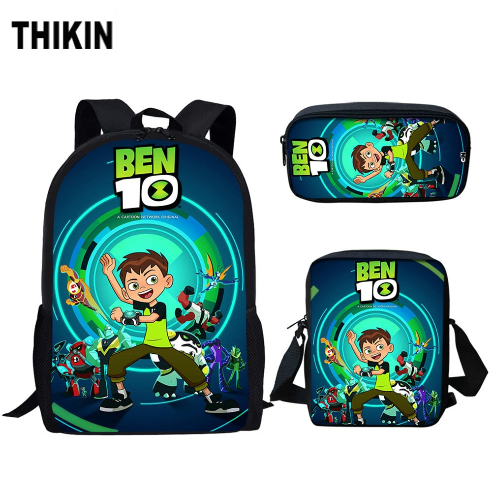 Cartoon Ben 10 Games Print Children's
