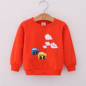 Spring Autumn Children Hoodies Baby Boys