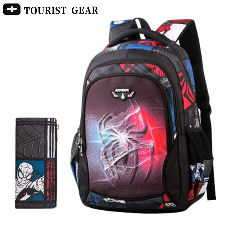 New Spiderman School Bag Boys