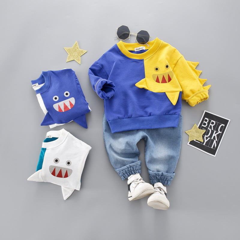Spring Autumn Boys Kid Clothing