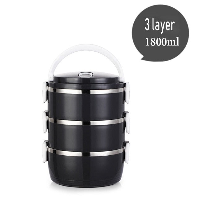 Stainless Steel Thermos Lunch Box For