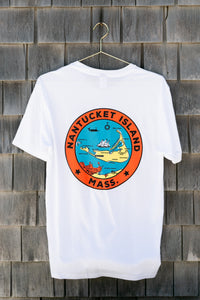 Nantucket Island Seal T-Shirt