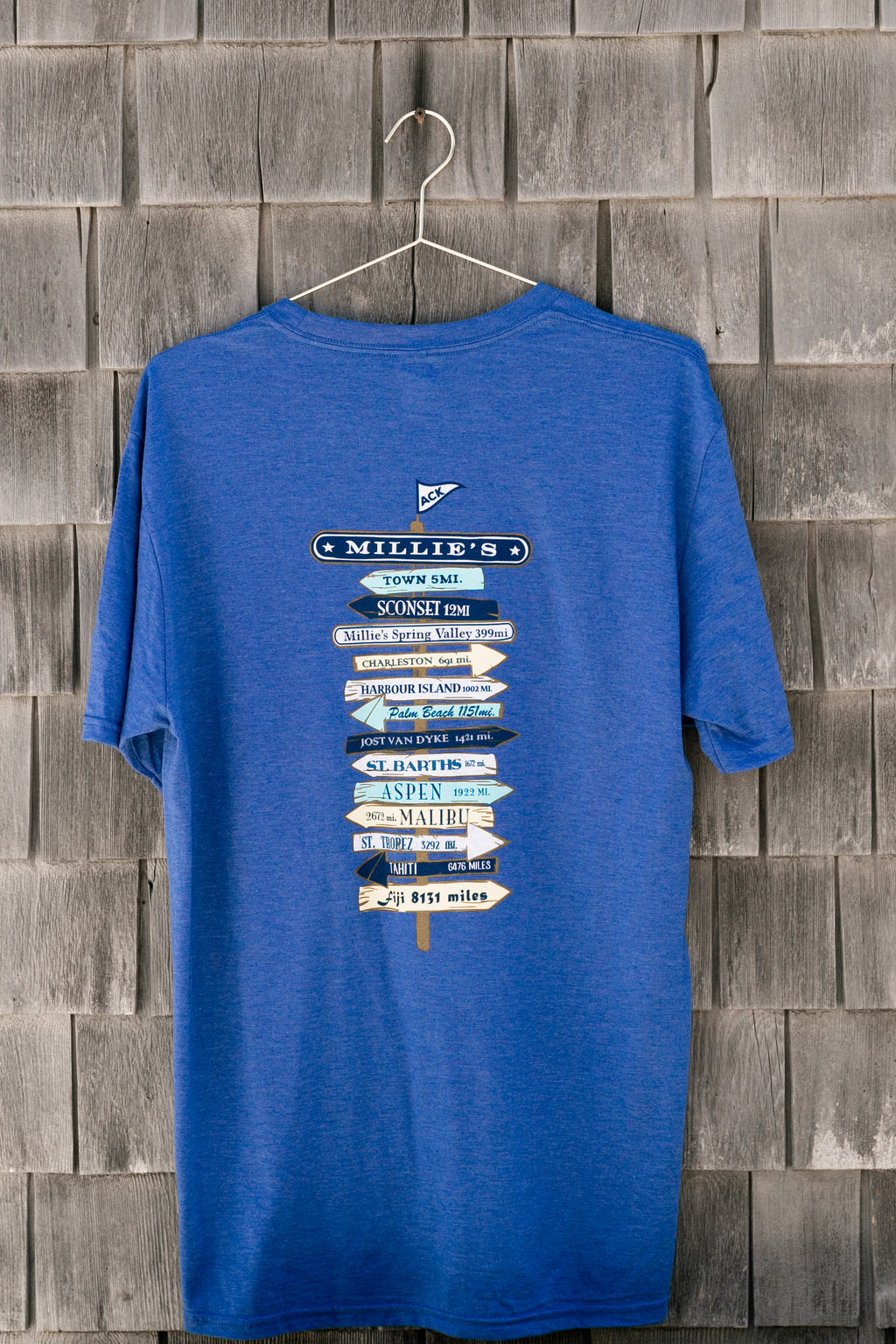 Nantucket Signpost T-Shirt