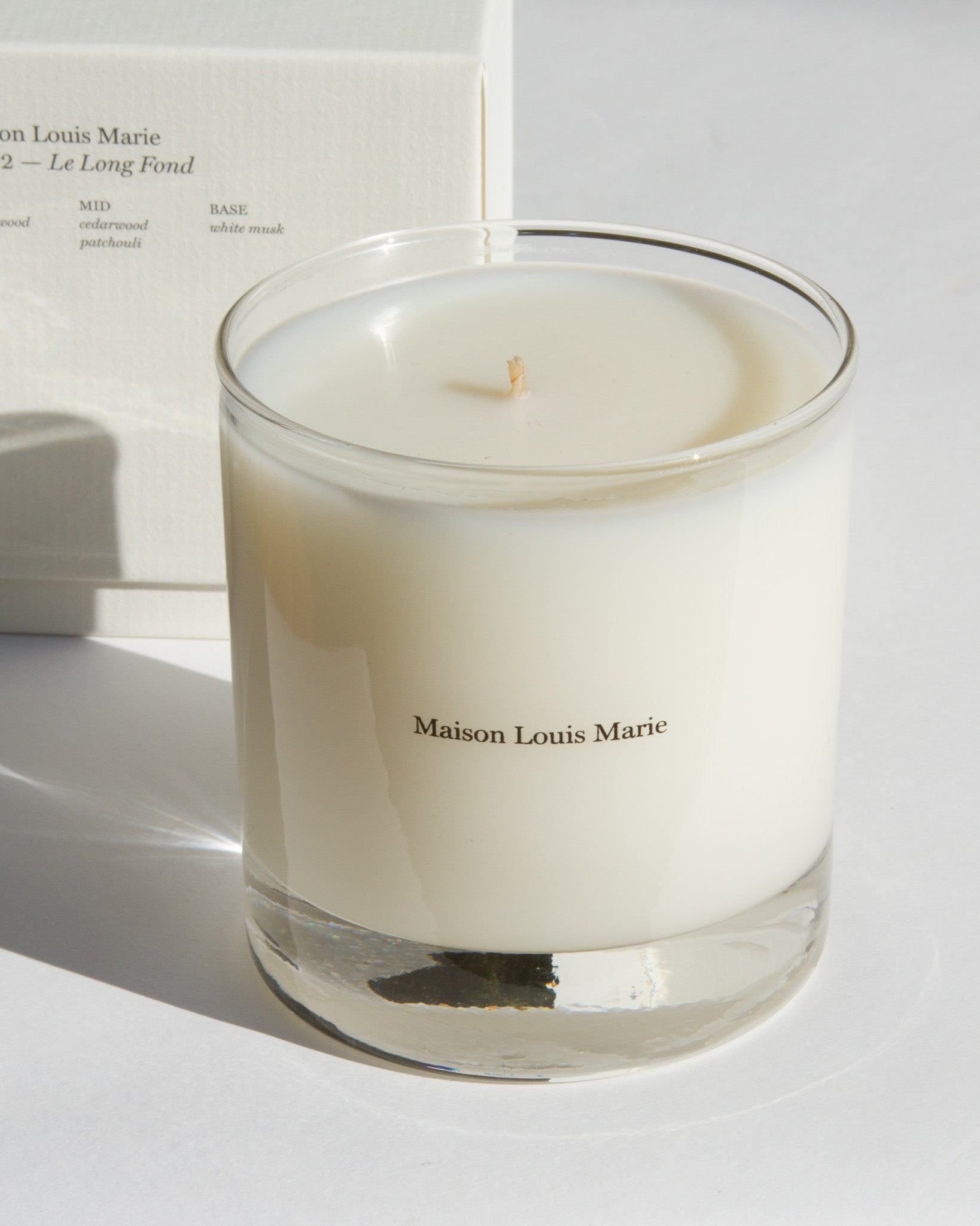 No. 02 - Le Long Fond Candle