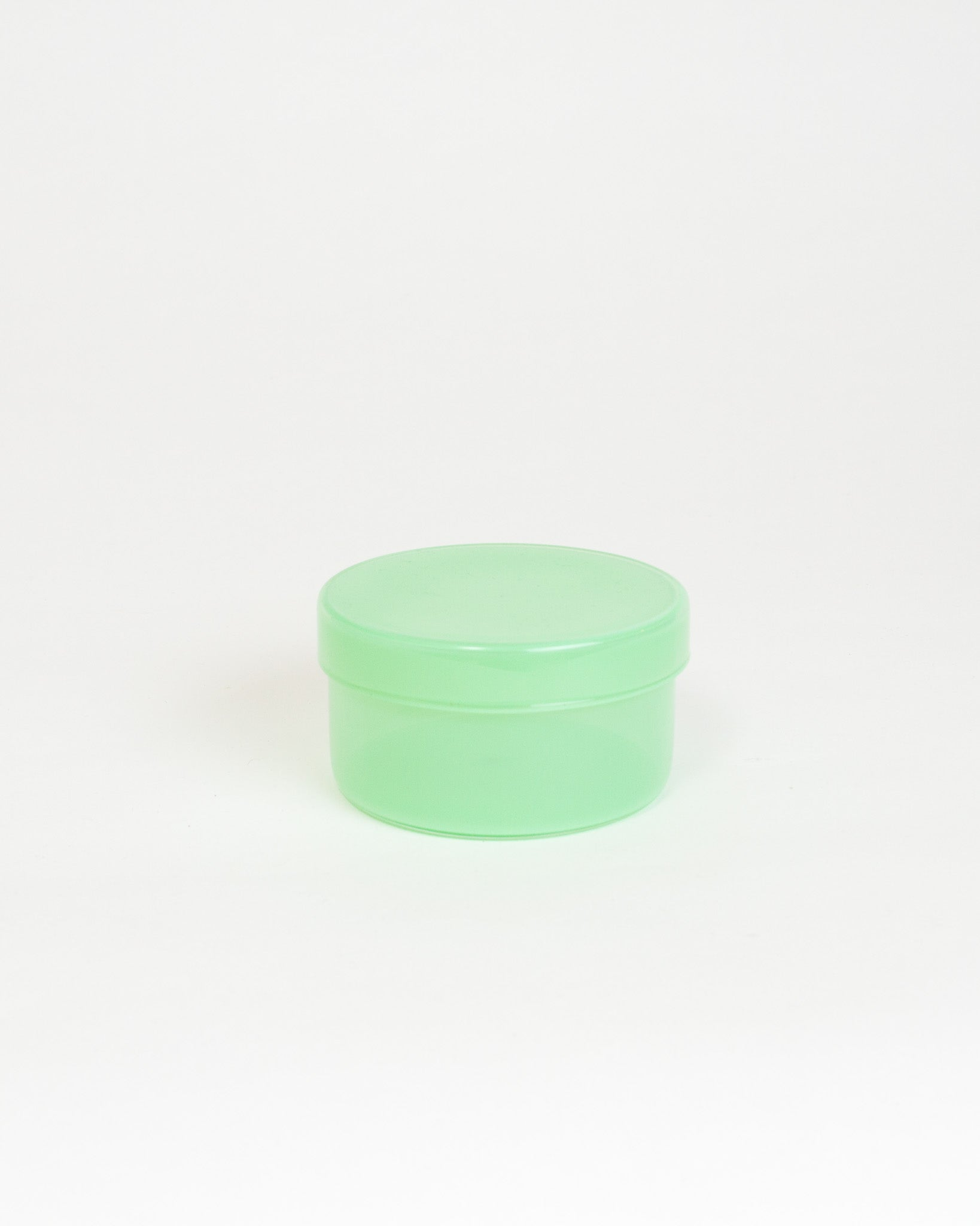 Mint Glass Container