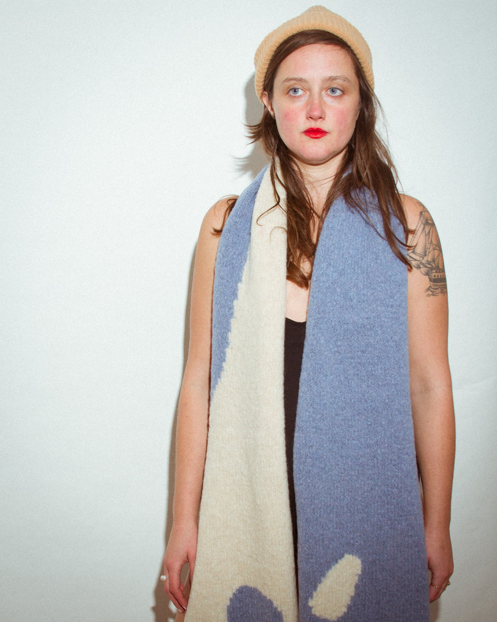 Coco Scarf in Sky Blue