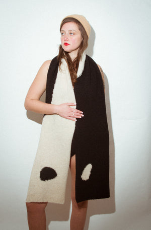 Coco Scarf in Black