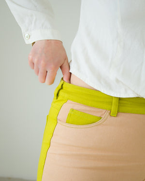 Dax Pants in Kiwi Green