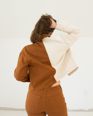 Coyote Jacket in Tan