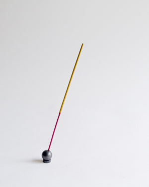 Ball Incense Holder - Black