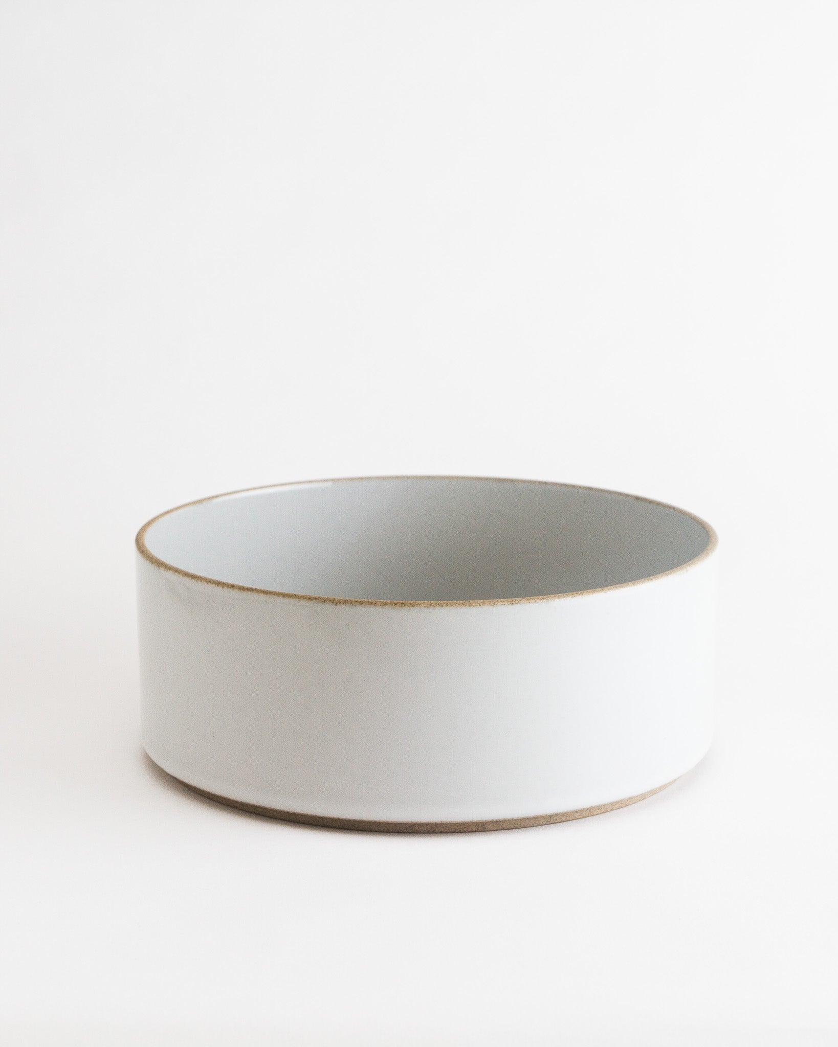 Tall Stackable Bowl in Gloss Grey