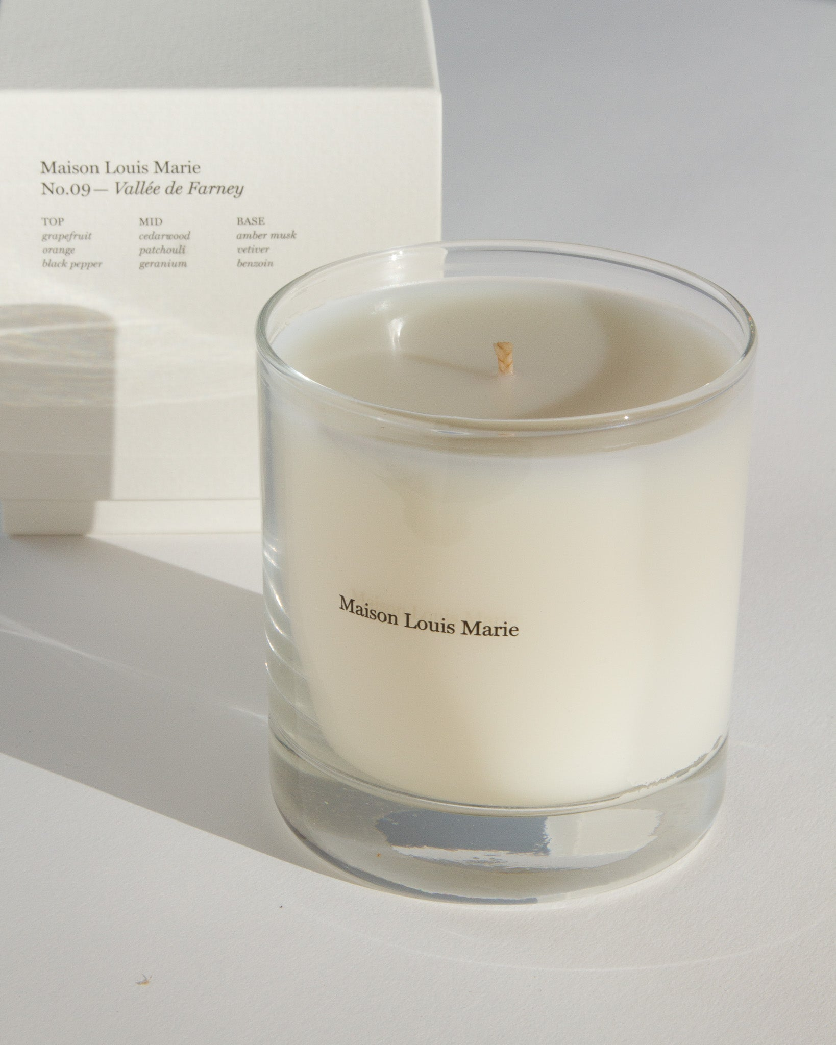 No. 09 - Vallée de Farney Candle