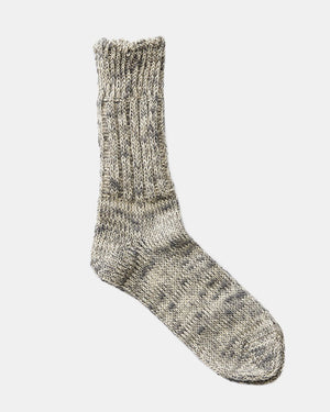 Moon Grey Linen Socks