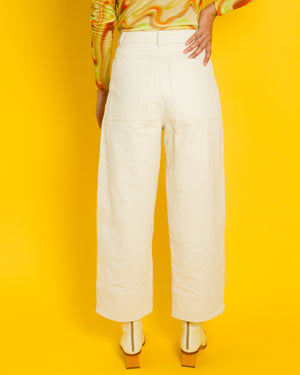 Kordal Quincy Work Pants in Ecru