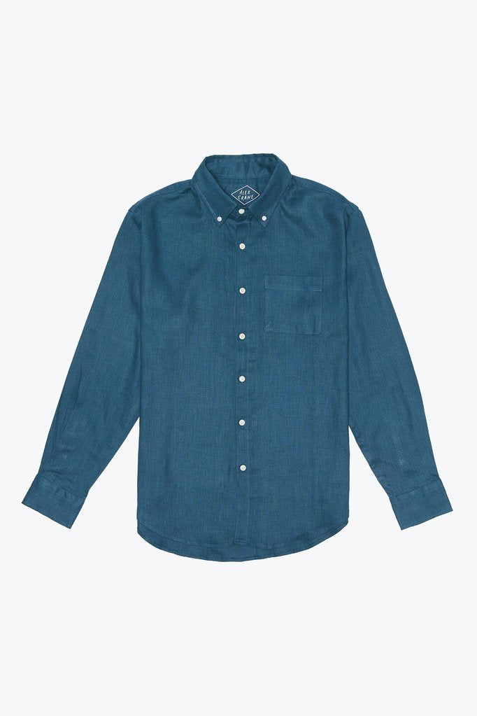 Alex Crane Playa Button Up in Dusk