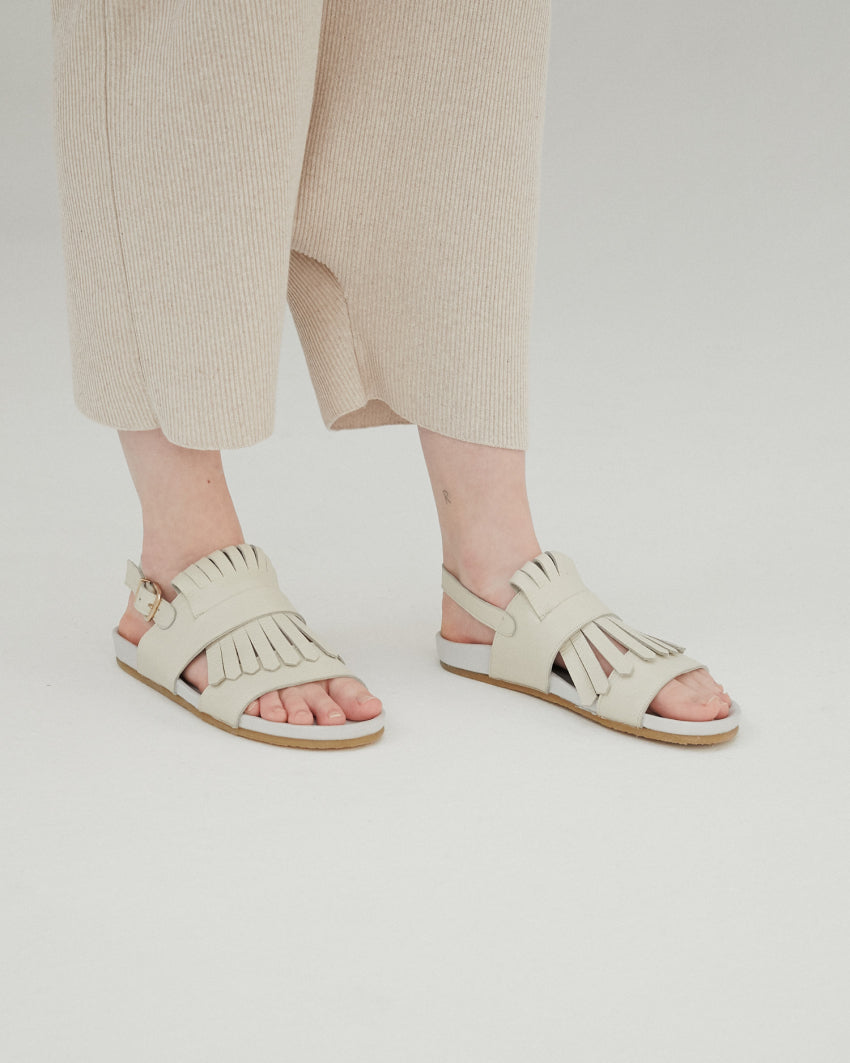 Fringes Chunky Sandals